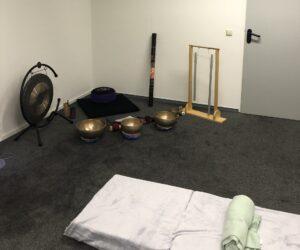 klankschalen, gong